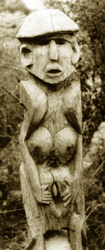 Sculptures of the vulva