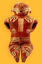 Condorhuasi vessel in the form of a woman, Argentina
